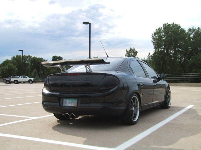 srt 4 black. the blue Riced out SRT-4